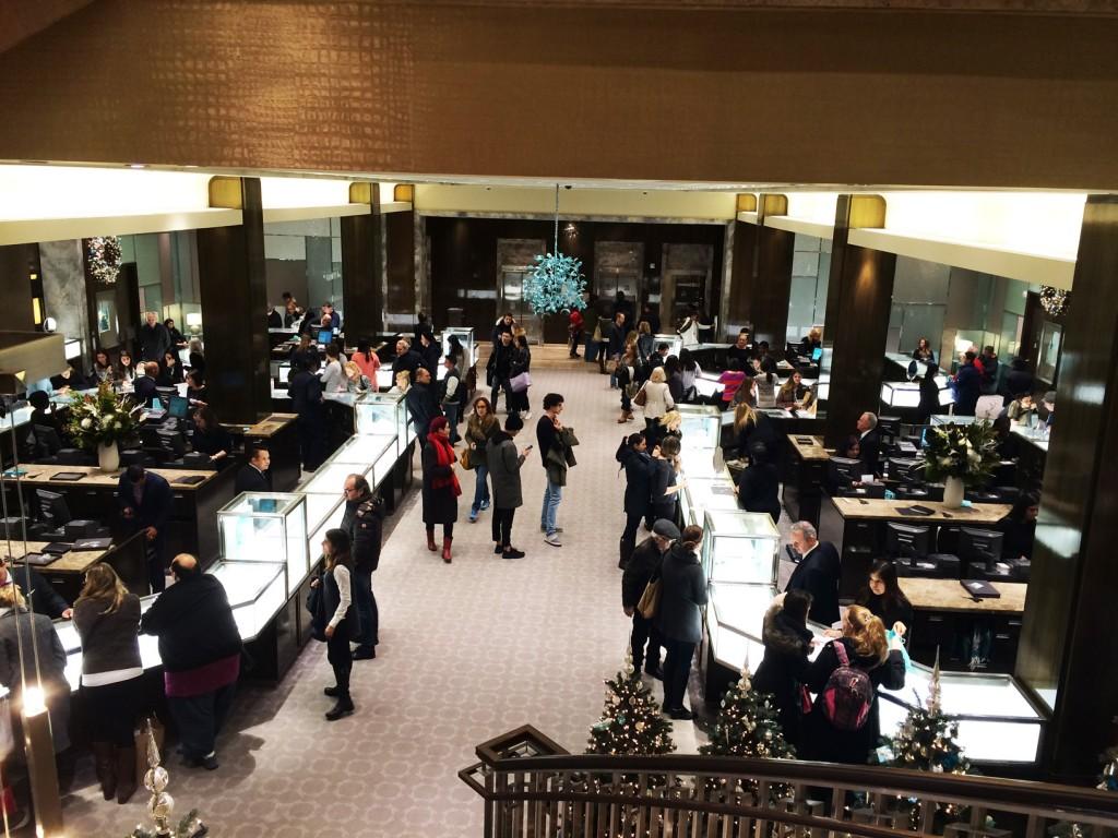 Tiffany & Co. 3rd floor